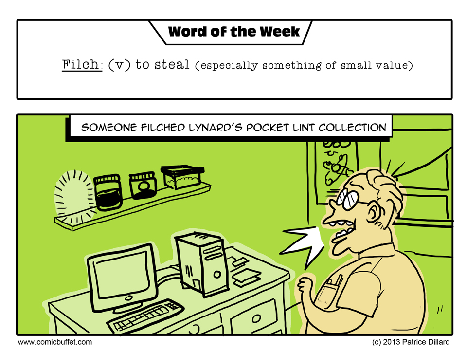 Word of the Week: Filch